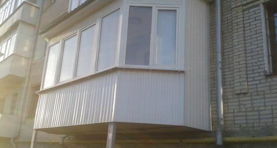 Ремонт балконов липецк балкон под ключ липецк остекление бал.